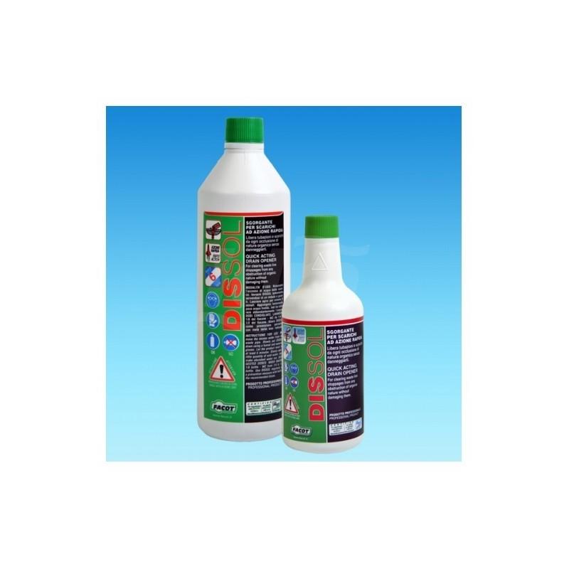 DISSOL disotturante liquido ad azione rapida 1lt FACDIS1000E