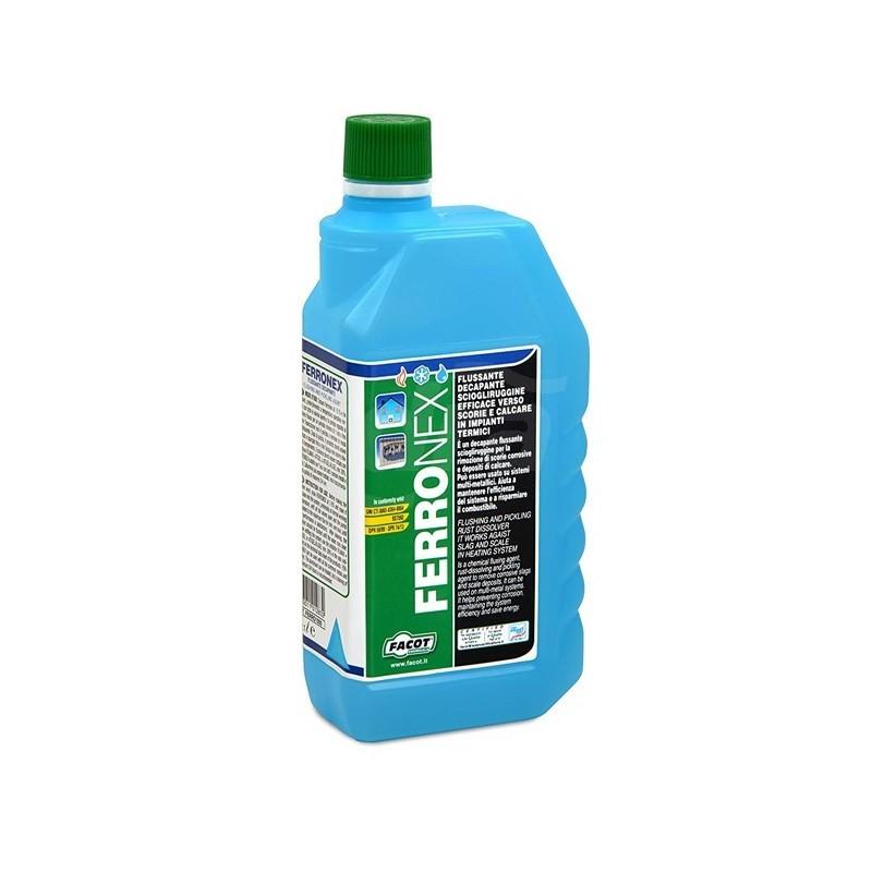 FERRONEX decapante ossidi, Flussante chimico. Flacone 1lt FACFERRO1000
