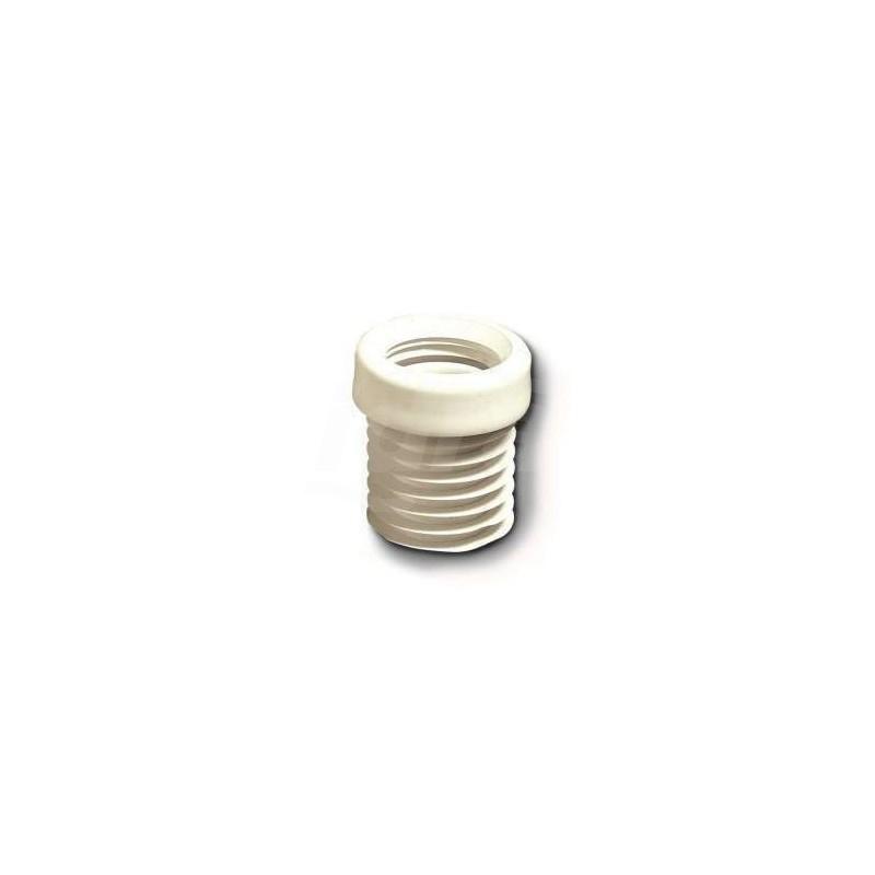 Prolunga wc plastica bianco ø110/125 222200PB110 - Accessori in plastica