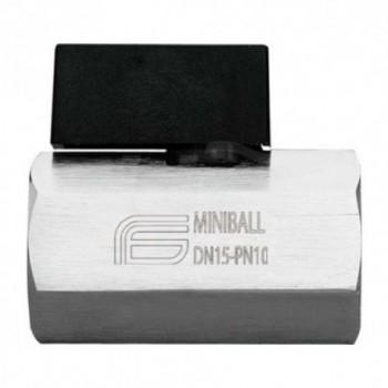 """Miniball 1501 valvola a sfera ø1/2""""ff con levetta EFF1501C404"""