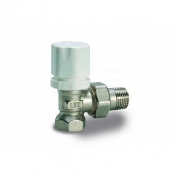 Rs 2502 Valvola radiatore a squadra termostatizzabile Term.+Vt 2600T.Ferro 3/4Din nichelato 12622700