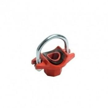 PRESA A STAFFA ATTACCO RAPIDO - 1 1/4 x 1/2 - 42,4x21,3 mm B003L042021 - Raccorderia antincendio