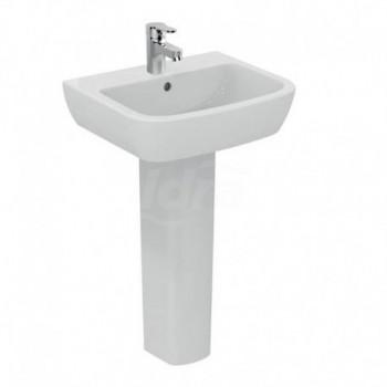 GEMMA 2 lavabo monoforo 55x45 bianco europa IDSJ521301
