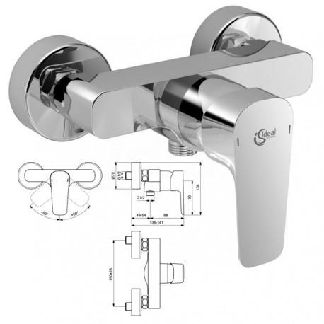 CERAPLAN III Miscelatore rubinetto monocomando esterno doccia CR B0716AA - Gruppi per docce