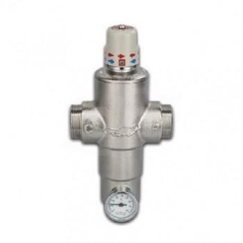 """RP302DN20 ECOSAN Miscelatore rubinetto termostatico 45°C ø3/4"""" RP302DN20 - Regolazione a punto fisso"""