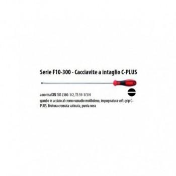 Serie F10-300 - Cacciavite a intaglio C-PLUS lungh. 300 impronta TG-5,5 UNF0701 355 300 01