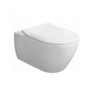 SUBWAY 2.0 confezione wc sospeso 5614R0 + sedile bianco 5614R201 - Sanitari