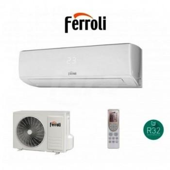 Climatizzatore Ferroli Gold 3.2 con gas R32 12000 BTU FRL2C0A902F+2C0A922F