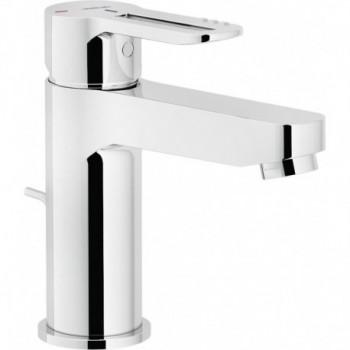 """NEW ROAD Miscelatore rubinetto monocomando lavabo ECO ø1.1/4"""" CR RDE0118/1CR - Per lavabi"""