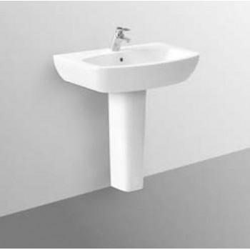 TESI DESIGN lavabo con foro 60x48 bianco europa IDST057101