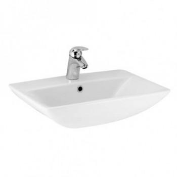 CANTICA lavabo CENTR. monoforo 60x45 bianco europa T095661