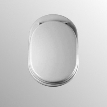 FIORILE sedile wc bianco europa con cerniere inox T628701