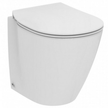 CONNECT S. wc BTW con sedile slim bianco europa IDSE130901