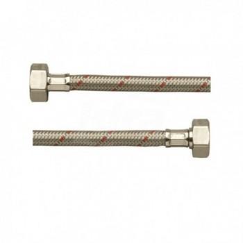 DN10 FLEX INOX EXP. MPR 3/8 - FGI 3/8 mm0250 FGADJS0250LAR - Per sanitari - treccia inox