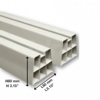 BASE A PAVIMENTO PVC AVORIO 350x80mm 9898-032-01