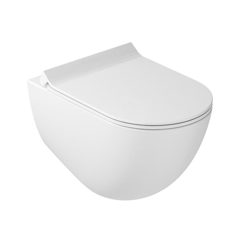 Dream vaso sospeso senza brida, bianco matt GLS7317MT