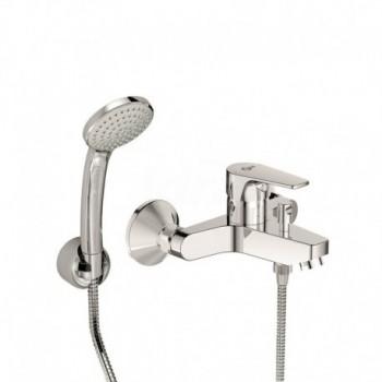 Miscelatore rubinetto per vasca esterno monocomando con deviatore Cerafine D in ottone cromato BC693AA - Gruppi per vasche