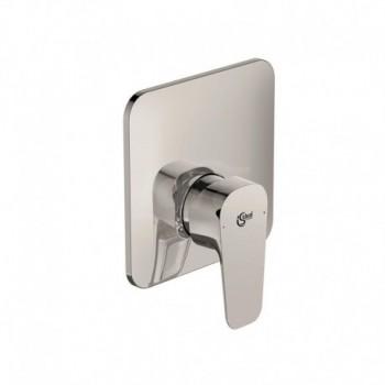 Miscelatore rubinetto per doccia da incasso monocomando Cerafine D in ottone cromato A7188AA - Gruppi per docce