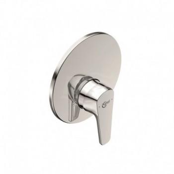 Miscelatore rubinetto per doccia da incasso monocomando Cerafine O in ottone cromato A7192AA