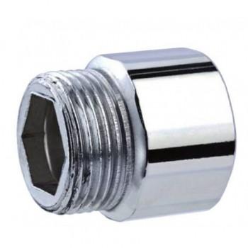 """529-z manicotto acciaio zincato ø1.1/4""""mf L.20mm OTE0529Z01140200"""