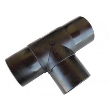 RACCORDO TEE 90° CODOLO LUNGO PE100 ø110 PN16 12ET110 - In acciaio