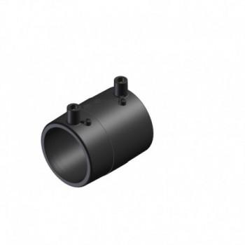 EME manicotto elettrosaldabile in PE100 (SDR11 PFA/PN16 MOP5) per acqua e gas.\nPer la saldatura di tubi e raccordi in poliet...