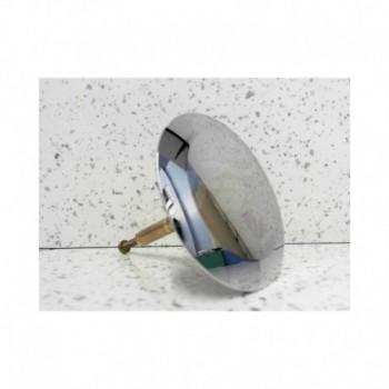 Tappo piletta di scarico alto lucido in cromo per Uniflex PushControl GEB241.715.21.1