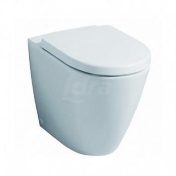 Vaso wc filo parete con sedile Pozzi Ginori Fast bianco POG78361000