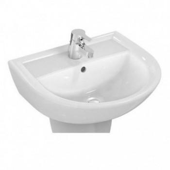 DOLOMITE Quarzo E881601 Lavabo 500x440x160 mm finitura bianco europa IDSE881601