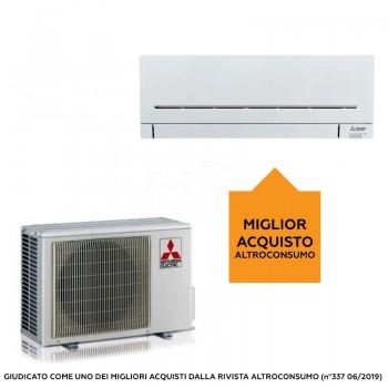 Mitsubishi Condizionatore Mono Split Serie Plus MSZ-AP Gas R-32 9000 Btu WiFi Ready MSZ-AP25VG + MUZ-AP25VG 317481+302527