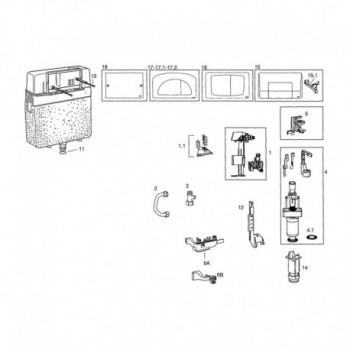 VALVOLE SCARICO DIAMANTE OL525040 - Accessori