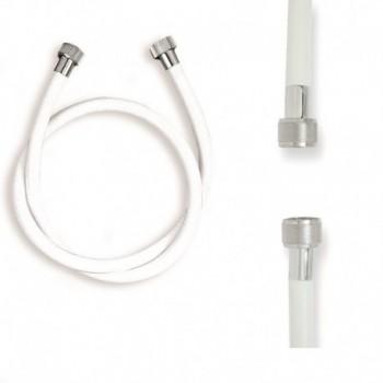 "FLESSIBILI DOCCIA IN PVC BIANCO FF 1/2""X1/2""X150 757900PB1/2X150 - Accessori"