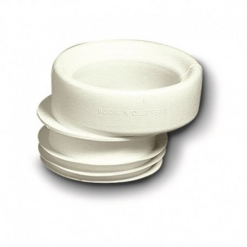 RACCORDO ECCENTRICO WC PLAST. 25mm 214800PB - Accessori in plastica