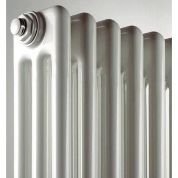 COMBY 2/600 Radiatore tubolare 2 colonne H.592 bianco (elemento singolo) ATCOMS901000020600 - Rad. tubolari in acc. 2 colonne