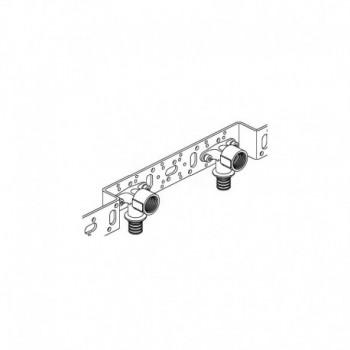 Unità di montaggio RAUTITAN LX per installazione sotto traccia, con 2 terminali a 90° 16 – F 1/2? corta 11680231001 - Accessori