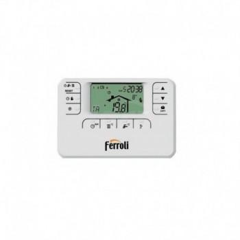 Cronocomando remoto Ferroli Romeo W a fili con programmazione settimanale 013100XA