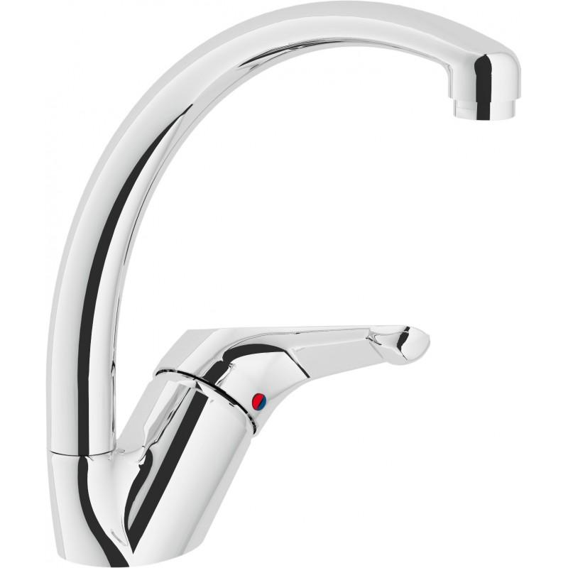 SKIPPER Miscelatore rubinetto monocomando lavello H.210mm CR SK11113CR