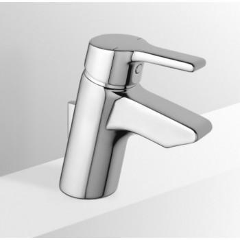 ACTIVE Miscelatore rubinetto monocomando lavabo L.11,6+tubi rigidi CR B8057AA