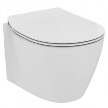 CONNECT wc sospeso C/sedile slimonocomandoon fissaggi nascosti bianco europa IDSE771901