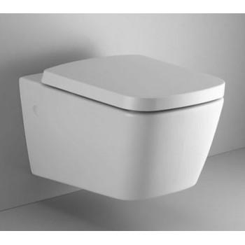 Vaso wc sospeso serie Mia Dolomite. Completo di fissaggi speciali a scomparsa. Sedile bianco originale con chiusura soft incl...