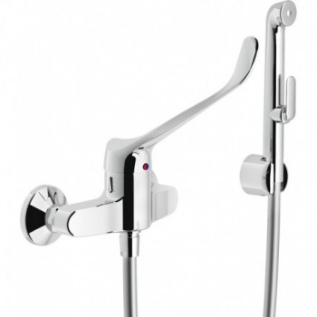 Miscelatore rubinetto monocomando WC/bidet con leva CLIN.+DUPLEX CR AS11130/3CCR