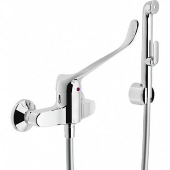 Miscelatore rubinetto monocomando WC/bidet con leva CLIN.+DUPLEX CR AS11130/3CCR - Rubinetteria