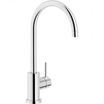 LIVE Miscelatore rubinetto monocomando lavello CANNA OMBR. CR LV00133CR - Per lavelli