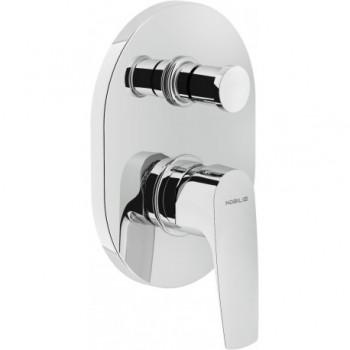 NOBI Miscelatore rubinetto monocomando incasso doccia con deviatore CR NB84100CR