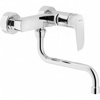 NOBI Miscelatore rubinetto monocomando lavello PAR. CR NB84115CR