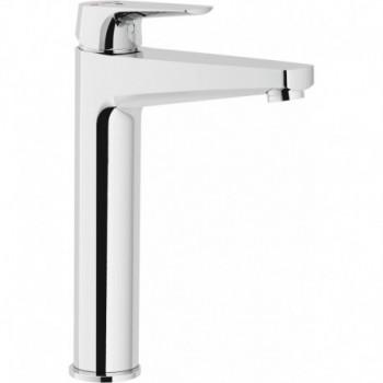 NOBI Miscelatore rubinetto monocomando lavabo BACINELLA ECO CR NBE84128/2CR