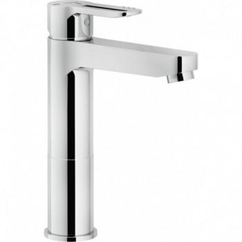 NEW ROAD Miscelatore rubinetto MONOC. lavabo BACIN. ECO H.218 CR RDE0158/2CR - Per lavabi