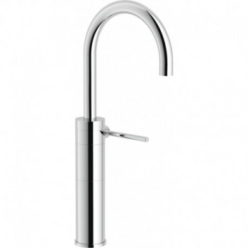 PLUS miscelatore monocomando lavabo ALTO S/SCARICO CR NOBPL00178CR