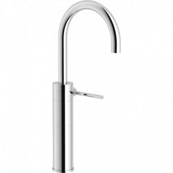 PLUS Miscelatore rubinetto monocomando lavabo ALTO S/SCARICO CR PL00178CR - Per lavabi