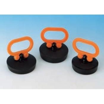 TAPPOMANIGLIA ø50,5 10° NERO/ARANCIO 8.0646.06 - Accessori in plastica